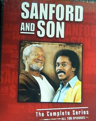 SANFORD and SON The COMPLETE SERIES 55+ Hours 136 Episodes 17-Disc Set SEALED