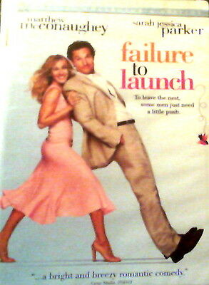 FAILURE to LAUNCH (2006) Special Collector's Edition Matthew McConaughey SEALED