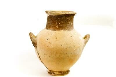 Ancient Cypriot Iron Age Pottery Neck Amphora c.1050 BC.