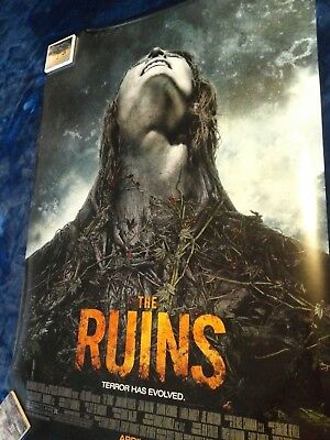 """* The Ruins * D/S Original Advance Promotional Movie Theater Poster * 27"""" x 40"""""""