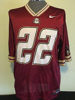 sports shoes fe8d5 15d1b BOSTON COLLEGE EAGLES Doug Flutie Nike Football Jersey