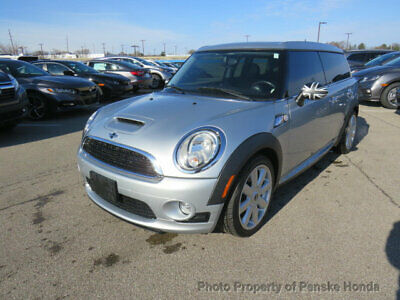2010 MINI Cooper S Clubman  Low Miles 2 dr Coupe Manual Gasoline 1.6L 4 Cyl SILVER
