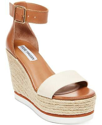 0067caf45b1 STEVE MADDEN WOMENS Ritter Fabric Open Toe Special Occasion