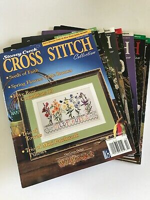 8~Stoney Creek Cross Stitch Collection Magazines~Years 2009,2010,2011