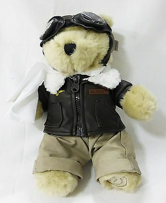 Starbucks coffee bearista bear aviator pilot 2004 plush stuffed animal