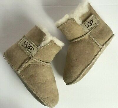 a3a87760153 UGG INFANT BABY Chestnut Toddler Erin Shearling Boots S/n 5202 Size ...