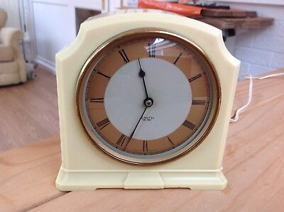 Vintage Smiths Sectric Art Deco style mantle clock.