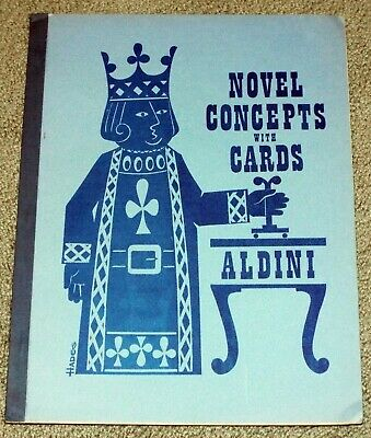 Aldini Novel Concepts with Cards 1970 Mickey Hades