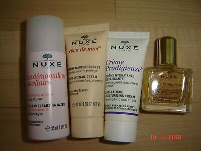 NEW NUXE 4 ITEMS (incl DRY OIL)