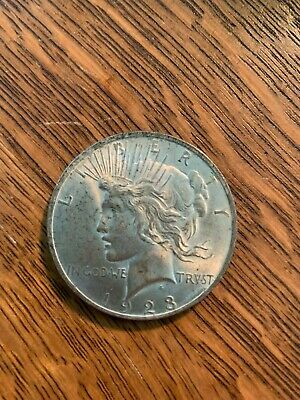 1923 United States Peace Silver Dollar - Low Usa Shipping