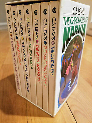 C.S Lewis The Chronicles of Narnia VINTAGE Box Set 1978, Collier Publishing