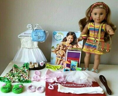 American Girl Lea Clark Doll of the Year 2016, Pierced ears 30 Pc.+ Accessories!