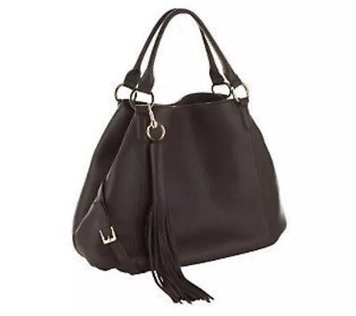 f0d0458549 GILI G I L I Large Brown Genuine Leather Tote Bag New Without Tags NWOT