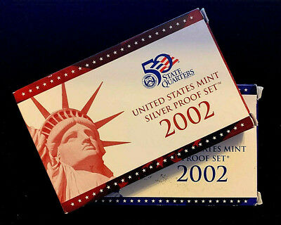 2002 S United States Proof Silver & Clad Set Uncirculated