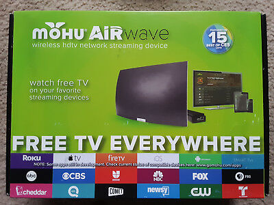 Mohu AirWave Indoor Wireless HDTV Antenna. free shipping