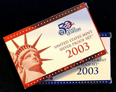 2003 S United States Proof Silver & Clad Set Uncirculated