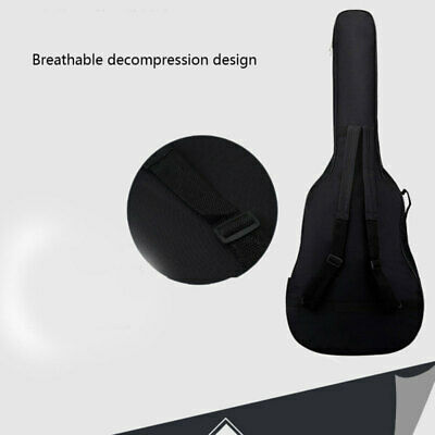 41''Acoustic and Classical Guitar Carrying Carry Case Thick Sponge Bag  RGV