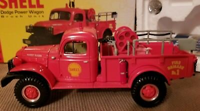 Shell Dodge Power Wagon Brush unit from First Gear,1/30 scale,1999 limited ed.