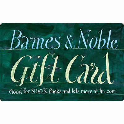 Barnes and Noble $50 Gift Card - Fifty US Dollar Gift Card - Free Shipping