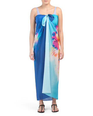 7bc34171ee GOTTEX Hawaii SILK Pareo Swim Cover Up Scarf ($198) NWT Resort Vacation