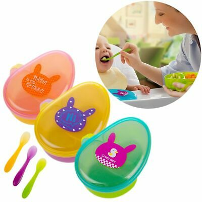 Supplement Snacks Holder Feeding Container Baby Food Storage Bowls Anti Spill