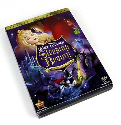 Good - Walt Disney's Sleeping Beauty 2-Disc Platinum Edition Set (DVD, 2008)