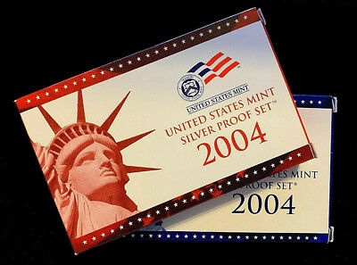 2004 S United States Proof Silver & Clad Set Uncirculated