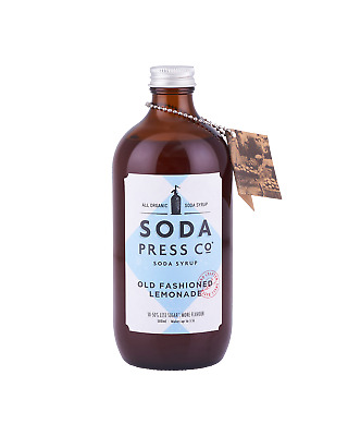 Soda Press Co Old Fashioned Lemonade (Organic Soda & Mixing Syrup) 500mL Other D