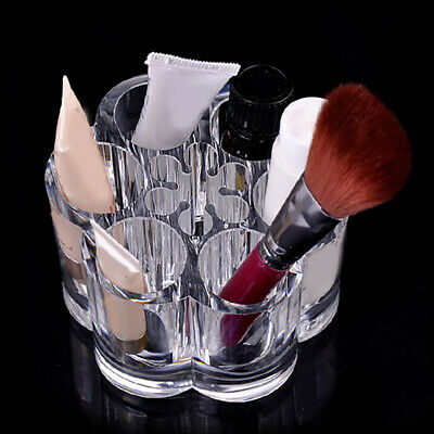 Plum Blossom Clear Acrylic Makeup Brush Holder Cosmetic Organize Hot