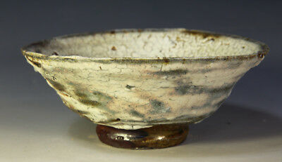 traditional  beautiful chawan woodfired tea Ceremony tea bowl