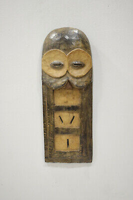 African Kwele Plank Mask Gabon Initiation Kwele Mask