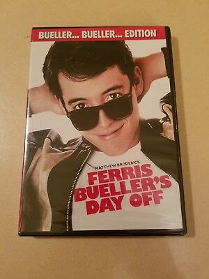Ferris Buellers Day Off Bueller Bueller Edition DVD New Still Sealed