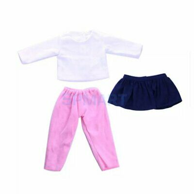 3pc/set Simulation Doll Clothes Children Bathing Baby Doll Accessor  Hq