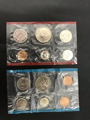 American Bureau Of The Mint Set 1972 USA Coins UNC