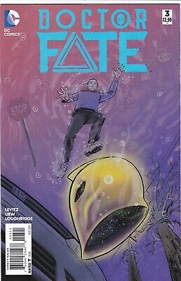 DOCTOR FATE #3 NMINT 1:25 Ibrahim Moustafa VARIANT KHALID NASSOUR 2015 NEW MOVIE