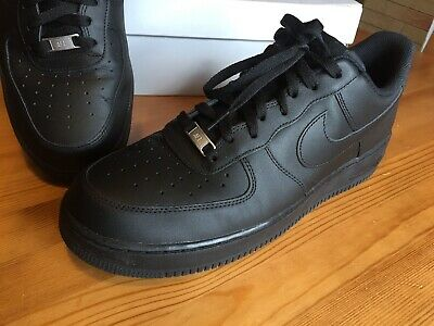 newest 62cad efc46 Nike Air Force 1 One Schwarz Black US13 UK12 EUR 47,5 Wie Neu
