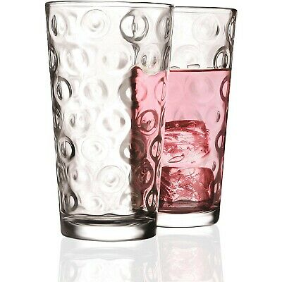 929525878ab0 Everyday Drinking Glasses Best Drinkware Glassware Home Drink Durable Thick  NEW