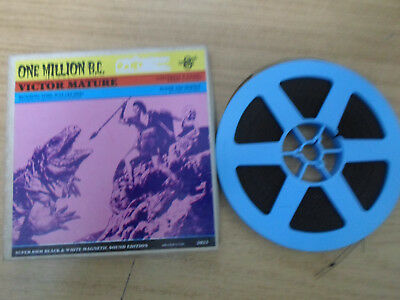 Super 8mm sound 1X200 ONE MILLION BC. Victor Mature classic.