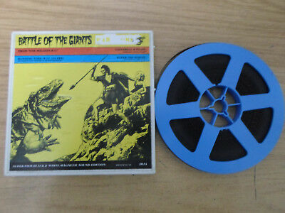 Super 8mm sound 1X200 ONE MILLION BC : Battle of the Giants. Victor Mature.