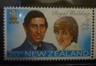 New Zealand 1981 Collectors Pack of Stamps Charles & Diana wedding