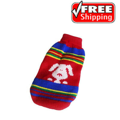 Pet Dog Puppy Cat Warm Clothes Coat Apparel Jumper Sweater Knitwear Hoodie New