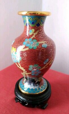 Vaso Cloisonne Cinese Cina Old Chinese Jar Chinoise Chino
