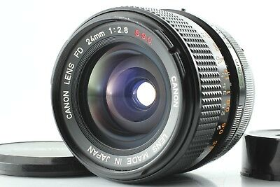 【NEAR MINT】 Canon FD S.S.C. 24mm F/2.8 MF Lens SSC Wide Angle From Japan #478