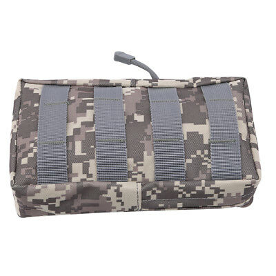 Hunting Tactical Molle Magazine Dump Drop Pouch Utility Tools Organizer Bag B