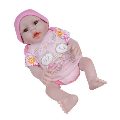 20inch Cute Reborn Babies Doll Alive Newborn Silicone Handmade Sweet Toddler