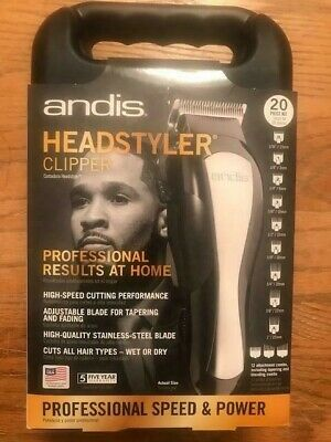 ANDIS  Powerful At-Home Headstyler Clipper Kit PROFESSIONAL SPEED POWER NEW