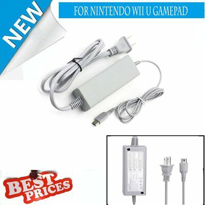 AC Power Supply Charging Adapter Cable Charger For Nintendo Wii U GamePad AP