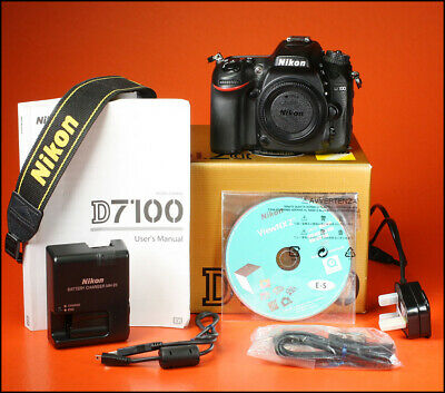Nikon D7100 Digital SLR Camera,  Sold With Battery, Charger, Manual, Strap & Box
