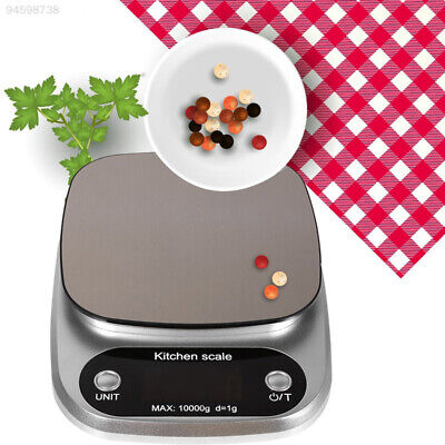 5938 Stainless Steel Mini Scale 10kg/1g Weighing Tool Practical Digital Scale