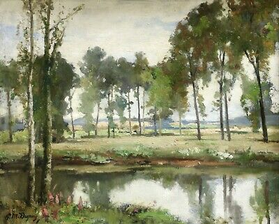 PAUL MICHEL DUPUY (1869-1949) SIGNED LARGE FRENCH IMPRESSIONIST OIL to £54,000